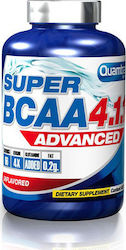 Quamtrax Nutrition Super BCAA Advanced 4:1:1 200 ταμπλέτες