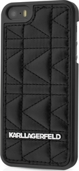 Karl Lagerfeld Quilted Back Cover Μαύρο (iPhone 6/6s)