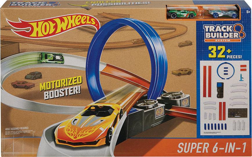 9d4449c33c0c8 Προσθήκη στα αγαπημένα menu Mattel Hot Wheels Track Builder Super 6-in-1  Race Track Set