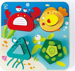 Early Explorer - Underwater Escapade Sorting Puzzle 4pcs (E0436) Hape