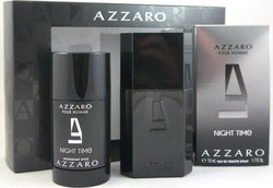 Azzaro Pour Homme Night Time Eau de Toilette 50ml & Deodorant Stick 75ml