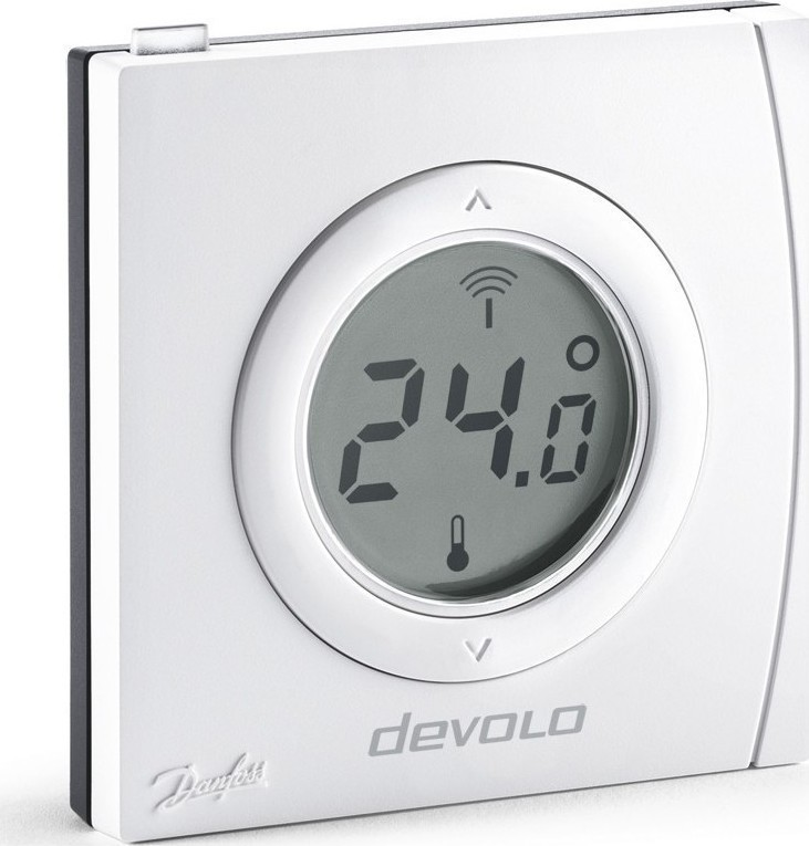Devolo Home Control Room Thermostat Θερμοστάτης Smart μη Προγραμματιζόμενος (9810) - Πληρωμή και σε έως 36 Δόσεις!!!