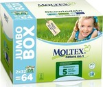 Moltex Eco Nappy Junior No 5 (11-25 Kg) 2x32τμχ