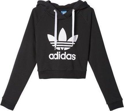 Adidas Crop Hoodie AY8131 - Skroutz.gr 8431c003edb