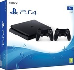 Sony Playstation 4 (PS4) Slim 1TB & DualShock 4