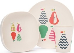 Penny Scallan Bamboo Mealtime Set - Pear Salad