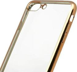 iNOS Electroplate Back Cover Σιλικόνης Gold (iPhone 8/7 Plus)
