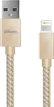Phonix Braided USB to Lightning Cable Χρυσό 1.2m (PHTH3G)