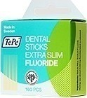 TePe Dental Sticks Extra Slim Fluoride 160τμχ