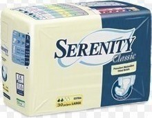 Serenity Classic Fitted Briefs Extra 30τμχ