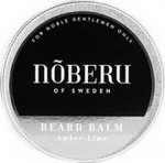Noberu Noberu Beard Balm Amber & Lime 30ml
