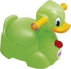 OK Baby Quack The Duck Potty Green