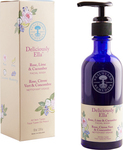 Neal's Yard Remedies Deliciously Ella Rose, Lime & Cucumber Facial Wash 100ml