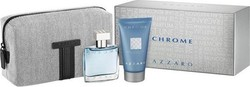Azzaro Chrome Set Eau de Toilette 30ml & Shower Gel 50ml & Νεσεσέρ