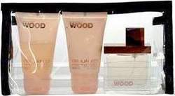 Dsquared2 Wood For Her Eau de Parfum 30ml & Body Lotion 30ml & Shower Gel 30ml