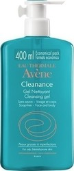 Avene Cleanance Cleansing Gel for Oil/Blemish/Prone Skin 400ml