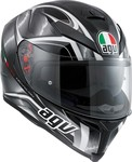 AGV K-5 S Multi - Hurricane Black/Gunmetal/White