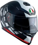 AGV K-5 S Multi - Darkstorm Matt Black/Red