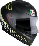 AGV K-5 S Thorn 46 Matt Black/White/Yellow