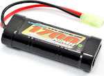 VOLTZ 6 CELL 7 2V NIMH 1700MAH BATTERY STICK PACK W/MINI TAMIYA