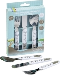 "Thermobaby Set of Cutlery ""Going to the Jungle"" 3τμχ"