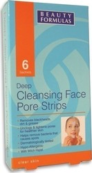Beauty Formulas Cleansing Face Pore Strips 6τμχ