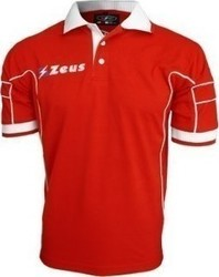 Zeus Polo Keller RED-WHT