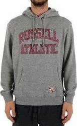 Russell Athletic Pull Over Hoody With Arch Logo A5-007-2-090