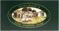 MItchell' s Wool Fat Soap English Bath Soap Gift Set 3x150gr
