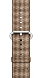 Apple 42mm Toasted Coffee/Caramel Woven Nylon