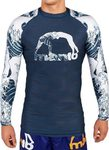 ΜΑΚΡΥΜΑΝΙΚΟ RASH GUARD MANTO WAVES - NAVY
