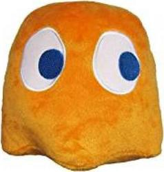 PAC-MAN COLLECTABLE PLUSH TOY CLYDE (ORANGE) (10cm)