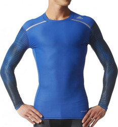 Adidas Tech-Fit Chill Long Sleeve Compression Top AJ4922