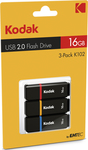 Kodak K102 16GB USB 2.0 3 pack