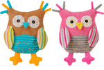 Babyono Owl Rattle Toy