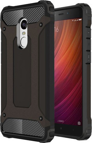 Armor Back Cover Μαύρο (Xiaomi Redmi Note 4)