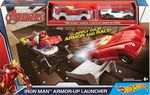 Mattel Hot Wheels: Marvel Iron Man - Armor-Up Launcher