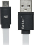 Earldom Flat USB 2.0 to micro USB Cable Λευκό 1m (21207996)