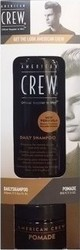 American Crew Get The Look Pack Daily Shampoo 250ml & Pomade 85gr