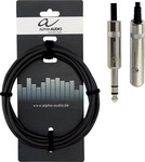 Alpha Audio Cable 6.3mm male - 6.3mm female 3m (190.712)