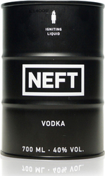 Neft Vodka Premium Black Βότκα 700ml
