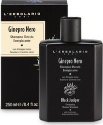 L' Erbolario Black Juniper Energising Shower Shampoo 250ml