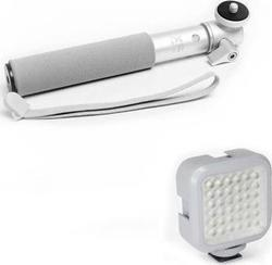 XSories Led Spotlight U-Shot Combo Silver