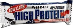 Weider High Protein Bars 24 x 50gr Φράουλα