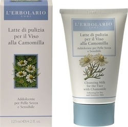 L' Erbolario Cleansing Milk for the Face with Chamomile 125ml