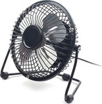 USB Desktop Fan Black