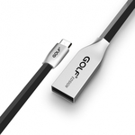 GOLF Regular USB 2.0 to micro USB Cable Μαύρο 1m (GF-GC29M-BK)