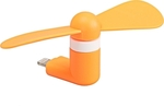 Lightning mini Fan Orange
