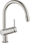 Grohe Minta C Ντους Supersteel 32918DC0