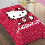 Dim Collection Βελουτέ Sanrio Hello Kitty Red